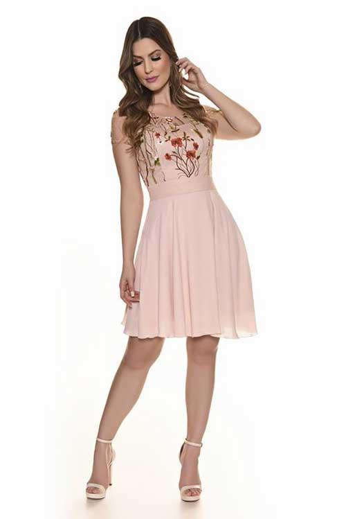 7ce51b1290 10 Modelos de Vestidos para Trabalhar  Fotos de Looks!